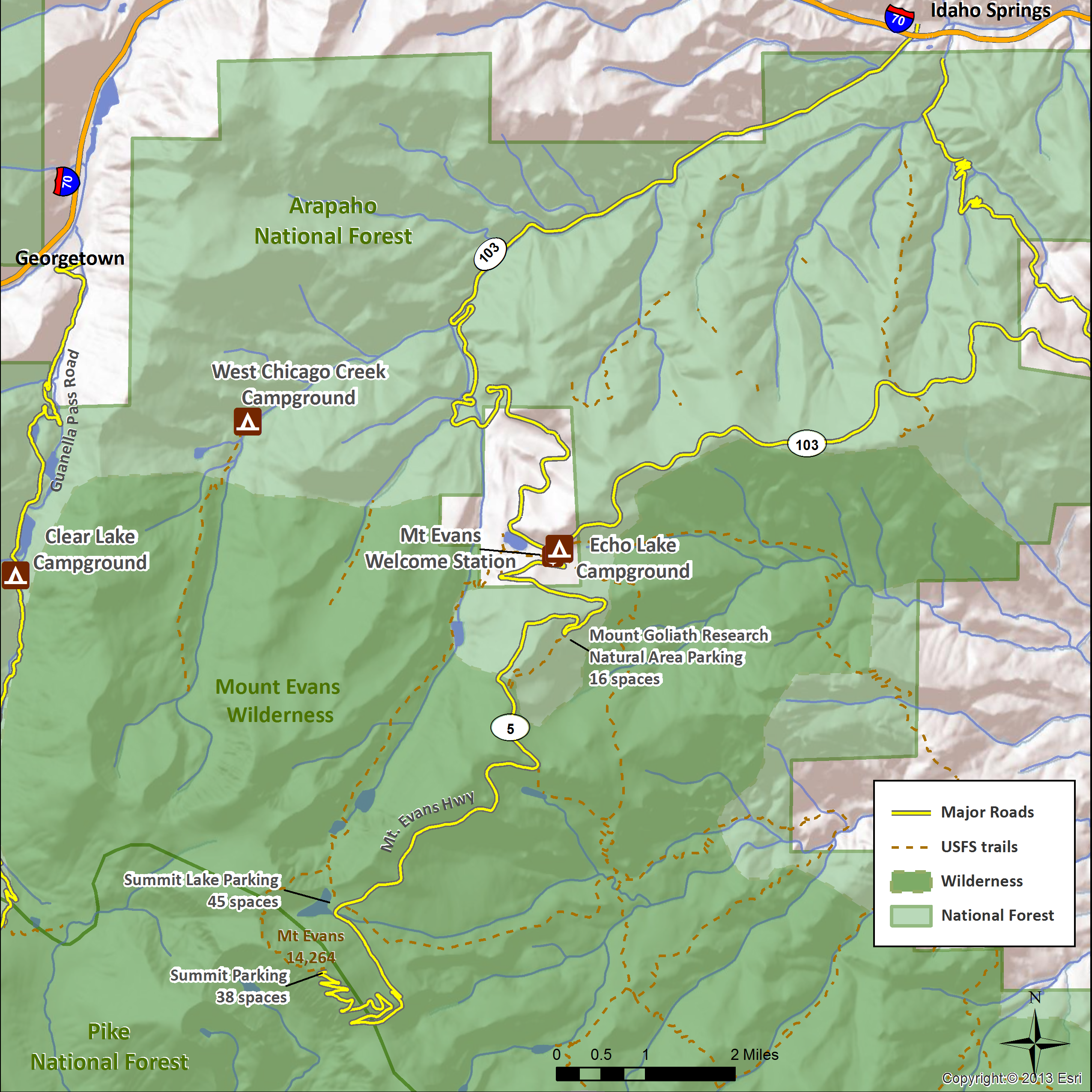U.S. Forest Service — Arapaho Roosevelt National Forest